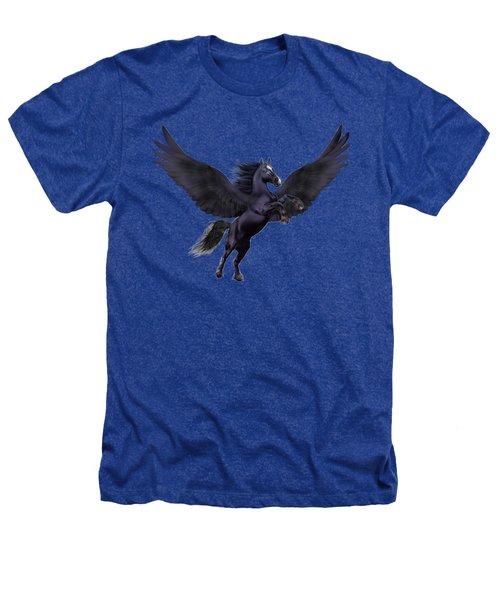 Mystical Sunset Pegasus Heathers T-Shirt