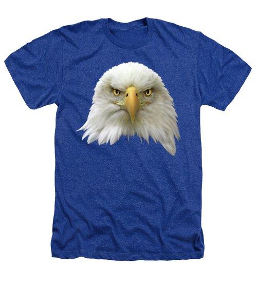 Bald Eagle Heathers T-Shirt by Shane Bechler