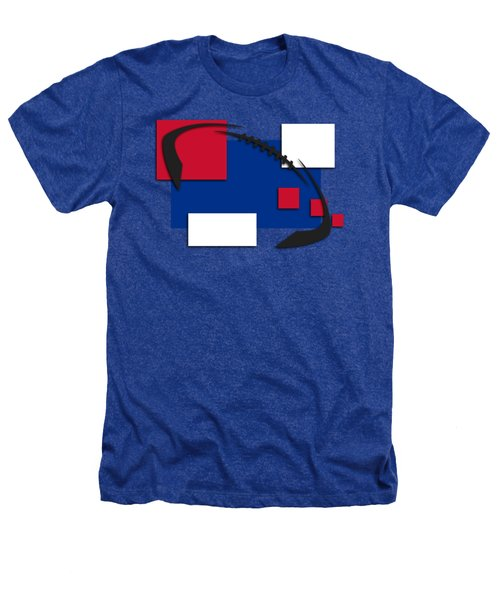 Bills Abstract Shirt Heathers T-Shirt by Joe Hamilton