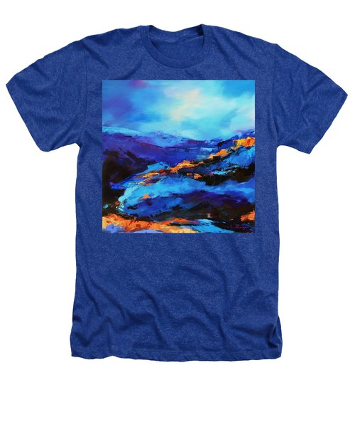Blue Shades Heathers T-Shirt