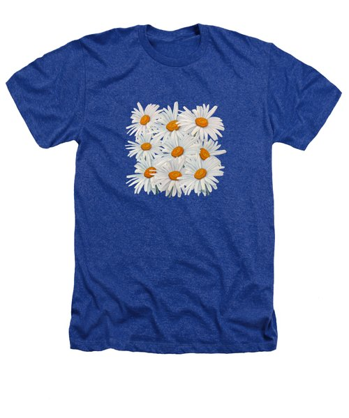 Bouquet Of White Daisies Heathers T-Shirt