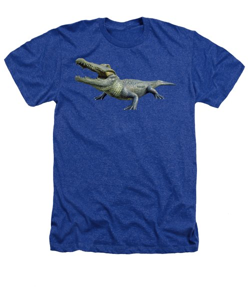 Bull Gator Transparent For T Shirts Heathers T-Shirt by D Hackett