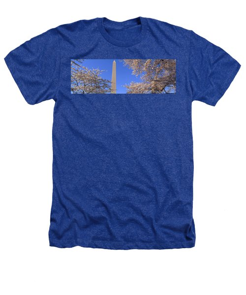 Cherry Blossoms And Washington Heathers T-Shirt by Panoramic Images