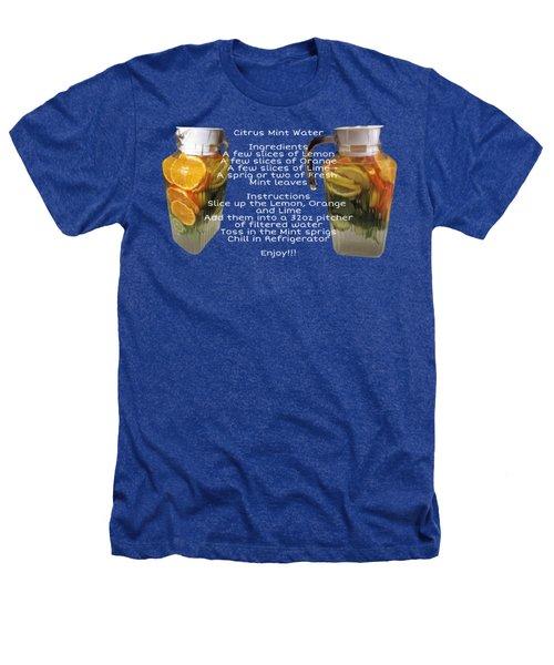 Citrus Mint Water Heathers T-Shirt