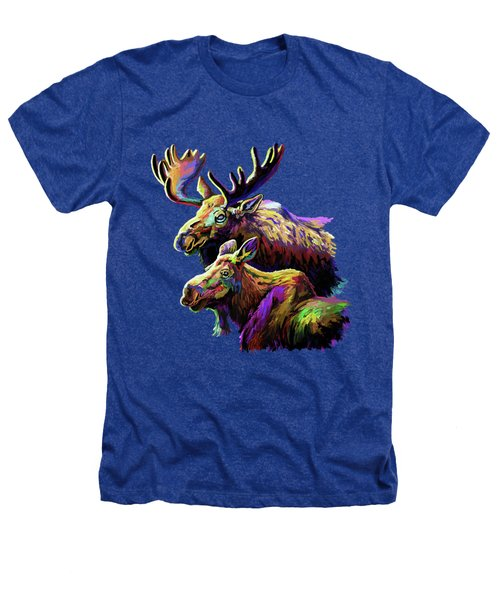 Colorful Moose Heathers T-Shirt
