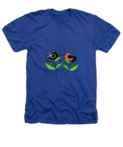 Cute Birds Heathers T-Shirt