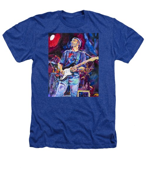 Eric Clapton And Blackie Heathers T-Shirt by David Lloyd Glover