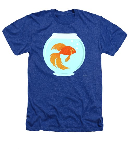 Goldfish Fishbowl Heathers T-Shirt
