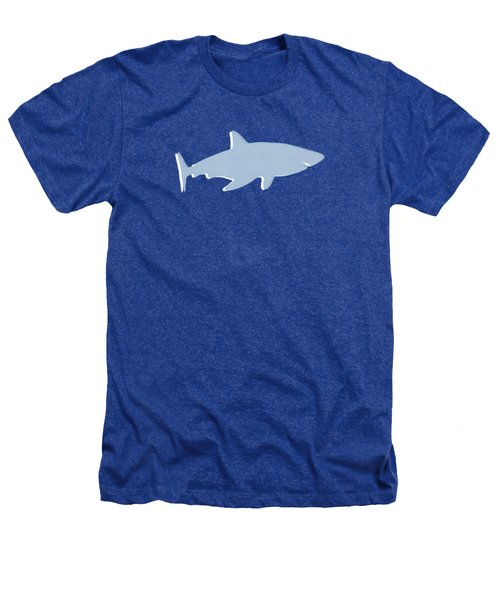 Grey And Yellow Shark Heathers T-Shirt