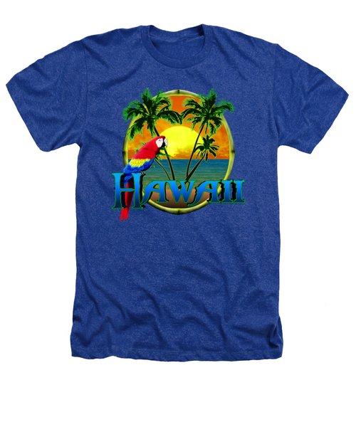 Hawaii Parrot Heathers T-Shirt
