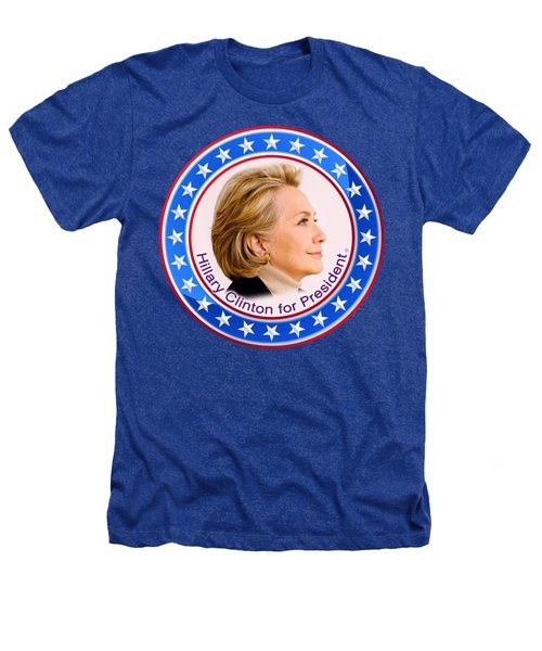 Hillary For President Heathers T-Shirt by The Art Angel Don