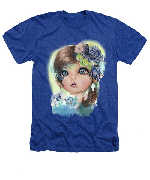 Indigo - Butterfly Keeper - Munchkinz By Sheena Pike  Heathers T-Shirt by Sheena Pike