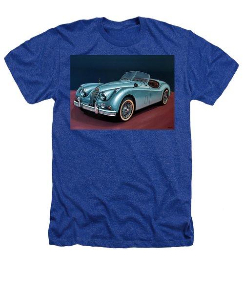 Jaguar Xk140 1954 Painting Heathers T-Shirt