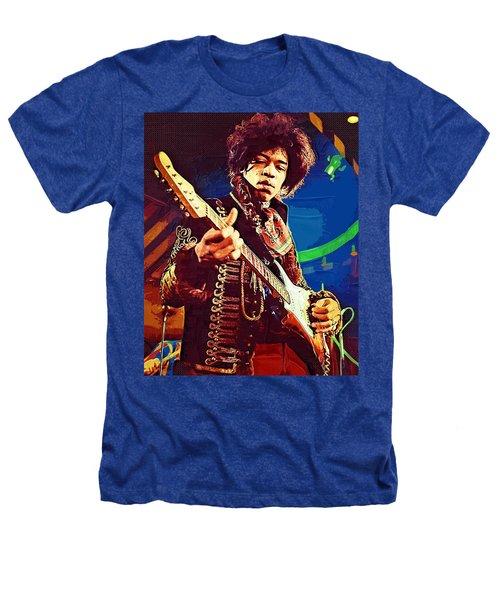 Jimi Hendrix Icon Heathers T-Shirt