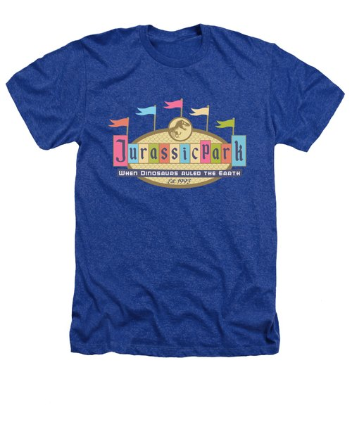 Jurassic Land Heathers T-Shirt