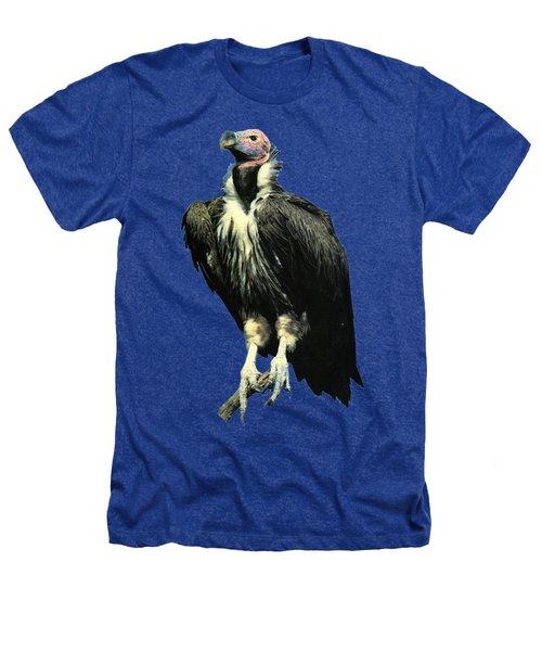 Lappet Face Vulture Heathers T-Shirt