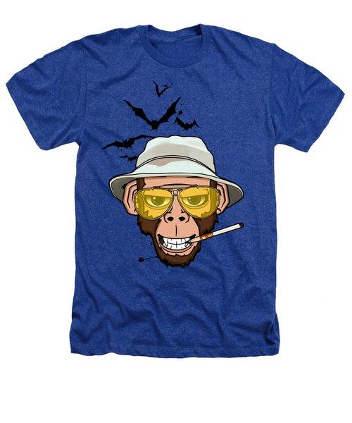 Monkey Business In Las Vegas Heathers T-Shirt by Nicklas Gustafsson