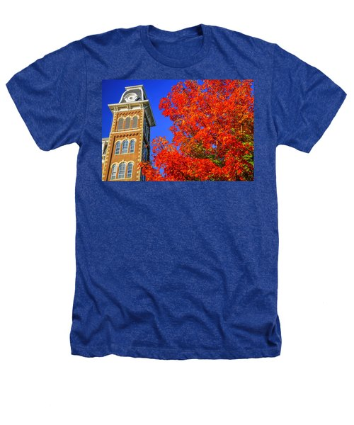 Old Main Maple Heathers T-Shirt by Damon Shaw