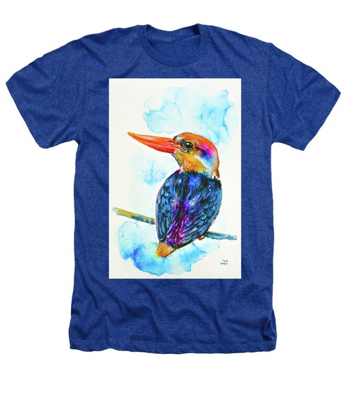 Oriental Dwarf Kingfisher Heathers T-Shirt