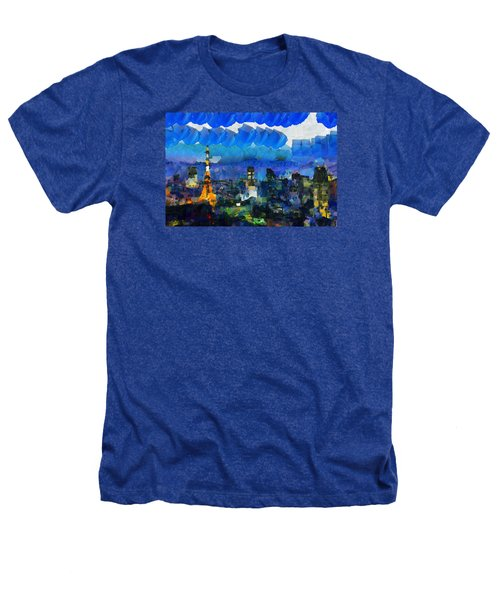 Paris Inside Tokyo Heathers T-Shirt by Sir Josef - Social Critic -  Maha Art