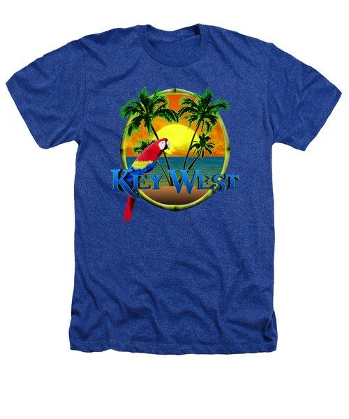 Parrot Of Key West Heathers T-Shirt