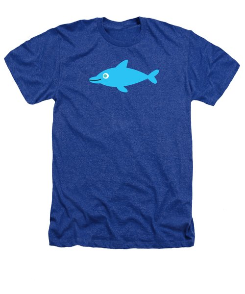 Pbs Kids Dolphin Heathers T-Shirt by Pbs Kids