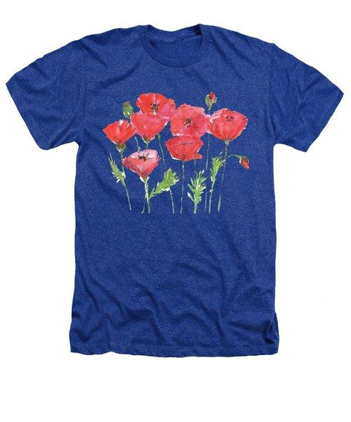Poppy Garden Heathers T-Shirt