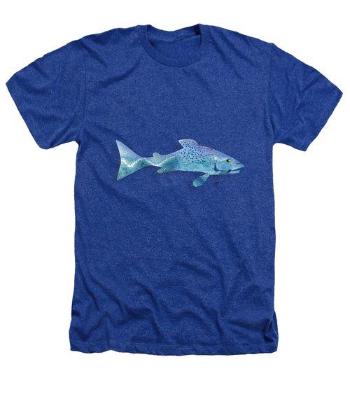 Rainbow Trout Heathers T-Shirt by Mikael Jenei