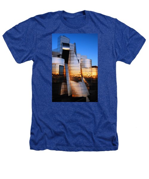 Reflections Of Sunset Heathers T-Shirt by James Kirkikis