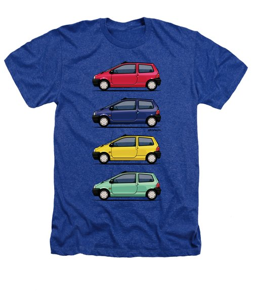 Renault Twingo 90s Colors Quartet Heathers T-Shirt by Monkey Crisis On Mars