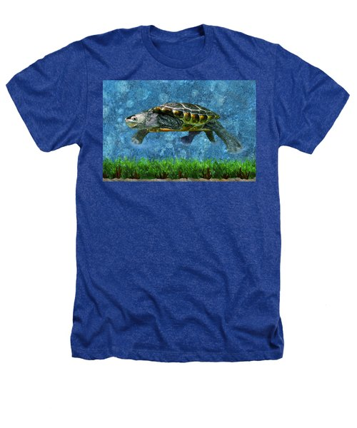 Rodney The Diamondback Terrapin Turtle Heathers T-Shirt