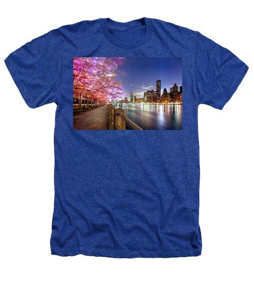 Romantic Blooms Heathers T-Shirt by Az Jackson