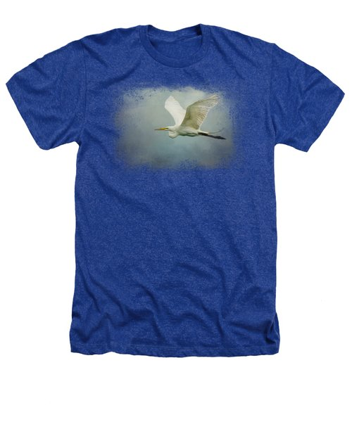 Sea Flight Heathers T-Shirt by Jai Johnson