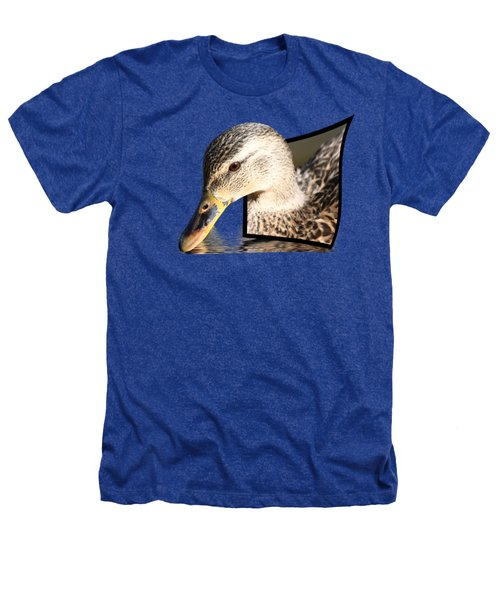Seeking Water Heathers T-Shirt by Shane Bechler