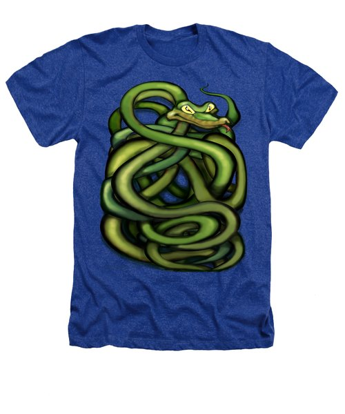 Snakes Heathers T-Shirt by Kevin Middleton