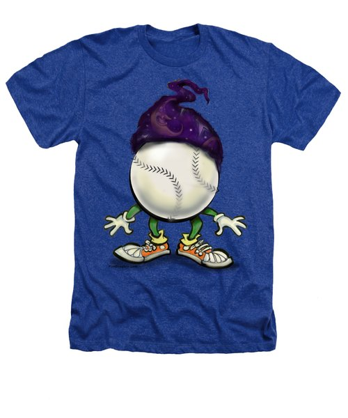 Softball Wizard Heathers T-Shirt