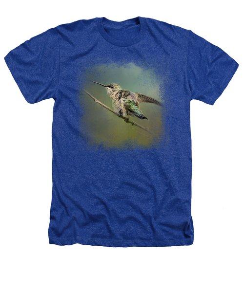 Spring Storm Hummingbird Heathers T-Shirt