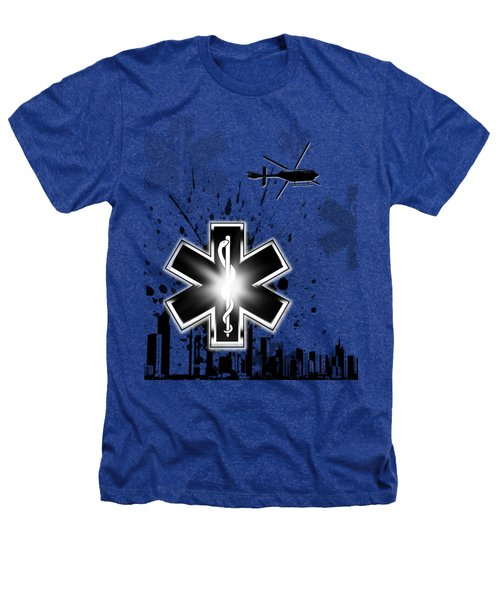 Star Of Life Graphic Heathers T-Shirt by Melissa Smith