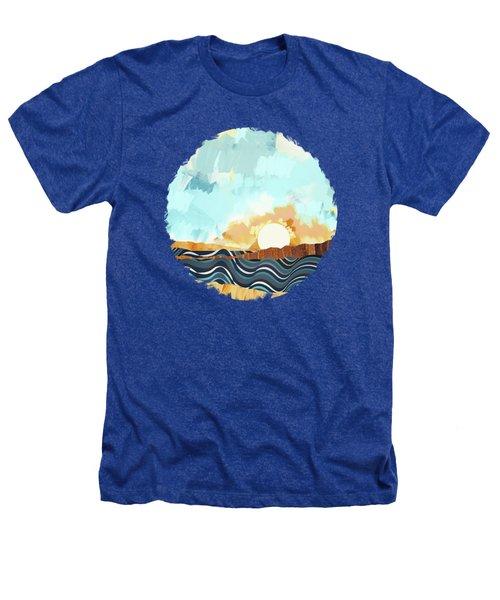 Summer Beach Sunset Heathers T-Shirt