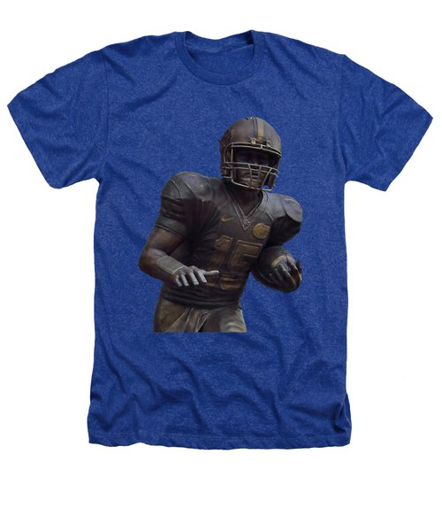 Tebow Transparent For Customization Heathers T-Shirt by D Hackett