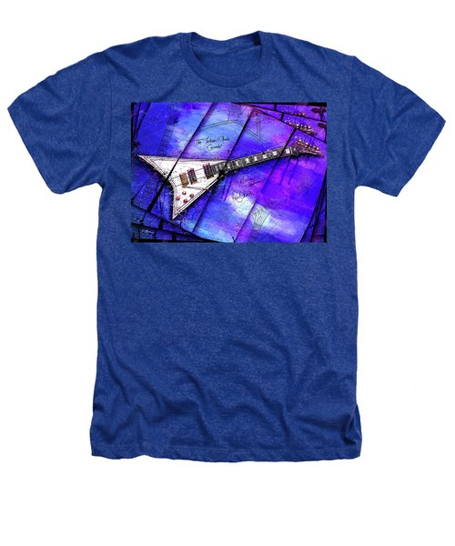 The Concorde On Blue Heathers T-Shirt by Gary Bodnar