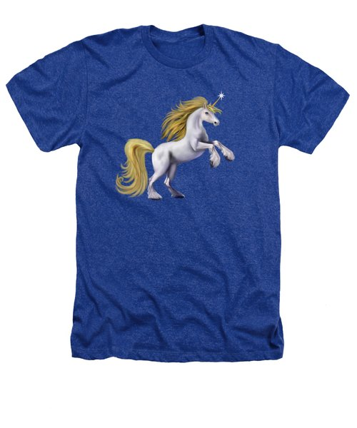 The Golden Unicorn Heathers T-Shirt by Glenn Holbrook