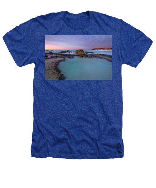 Tidepool Dawn Heathers T-Shirt by Mike  Dawson