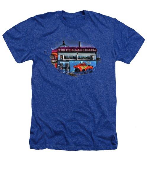 Tonys Crabshack Heathers T-Shirt by Thom Zehrfeld