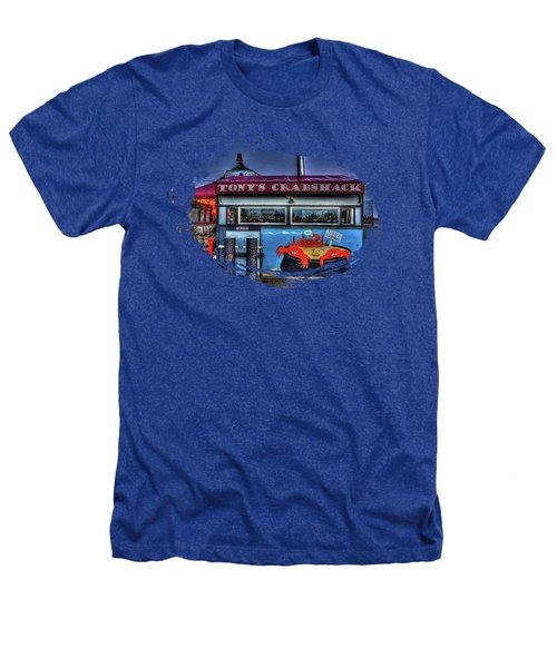 Tonys Crabshack Heathers T-Shirt