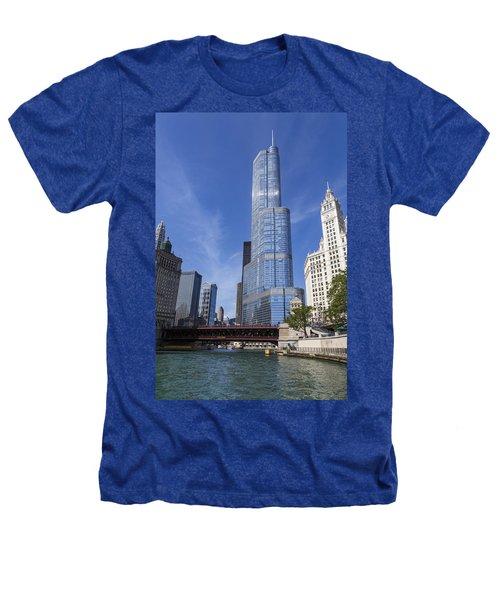 Trump Tower Chicago Heathers T-Shirt by Adam Romanowicz