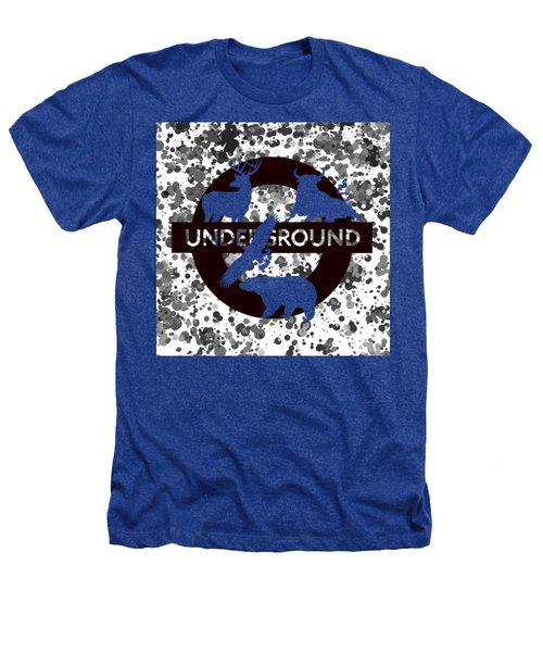 Underground.2 Heathers T-Shirt by Alberto RuiZ