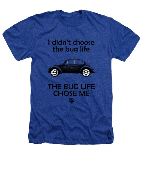 Volkswagen Beetle 1969 Heathers T-Shirt by Mark Rogan