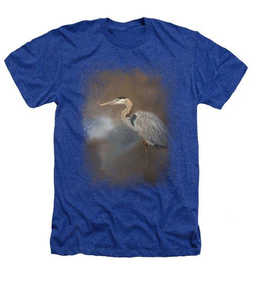 Walking Into Blue Heathers T-Shirt by Jai Johnson