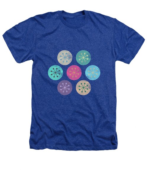 Watercolor Lovely Pattern Heathers T-Shirt by Amir Faysal